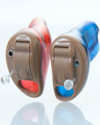 Appareils auditifs intra-auriculaires